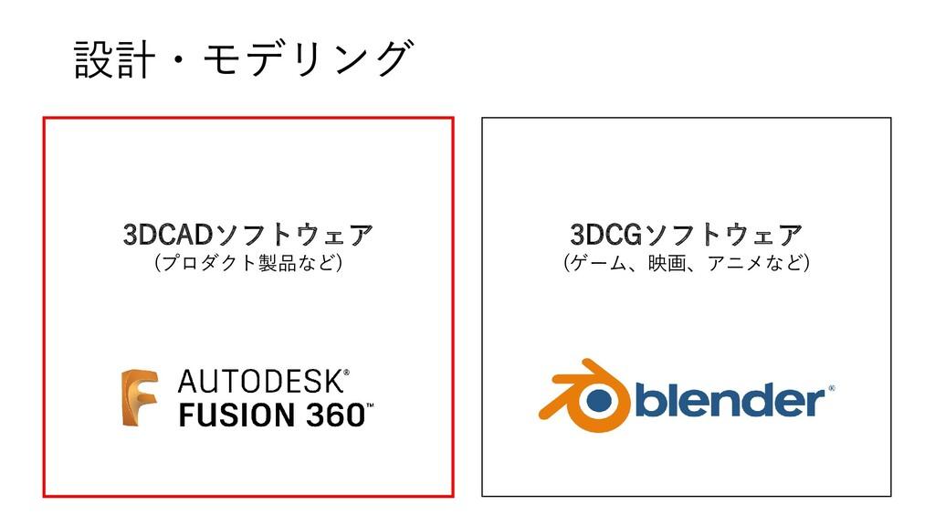 3DCADソフトウェア (プロダクト製品など) 3DCGソフトウェア (ゲーム、映画、アニメな...