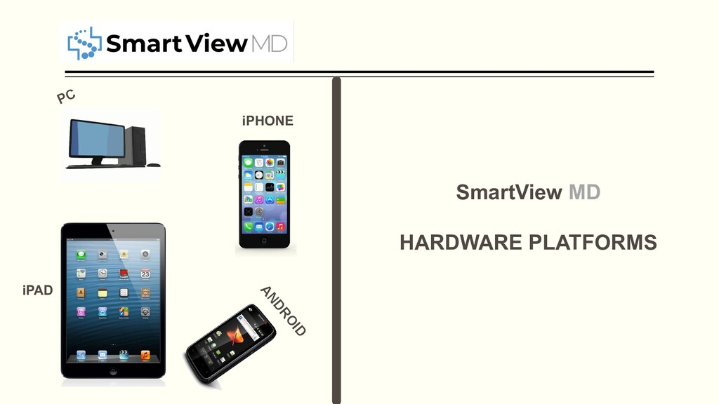 iPHONE ANDROID iPAD PC SmartView MD HARDWARE PL...