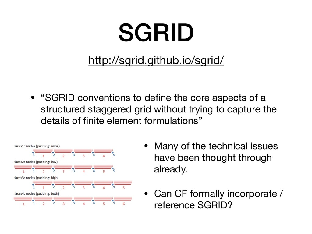 "SGRID • ""SGRID conventions to define the core as..."