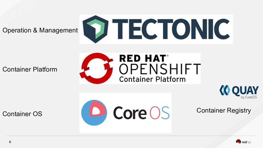Container OS Container Platform Operation & Man...
