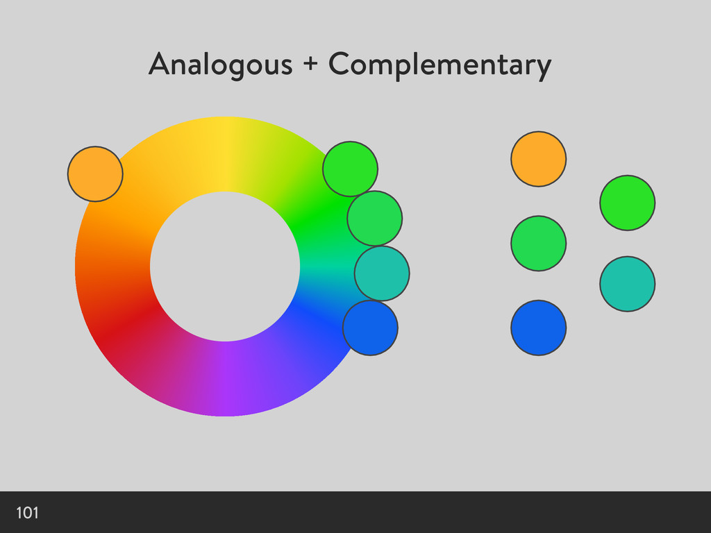 Analogous + Complementary 101