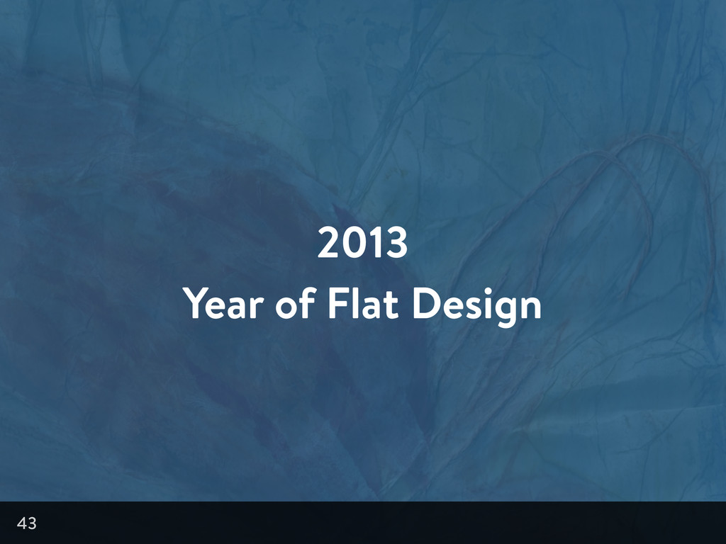 2013 Year of Flat Design 43