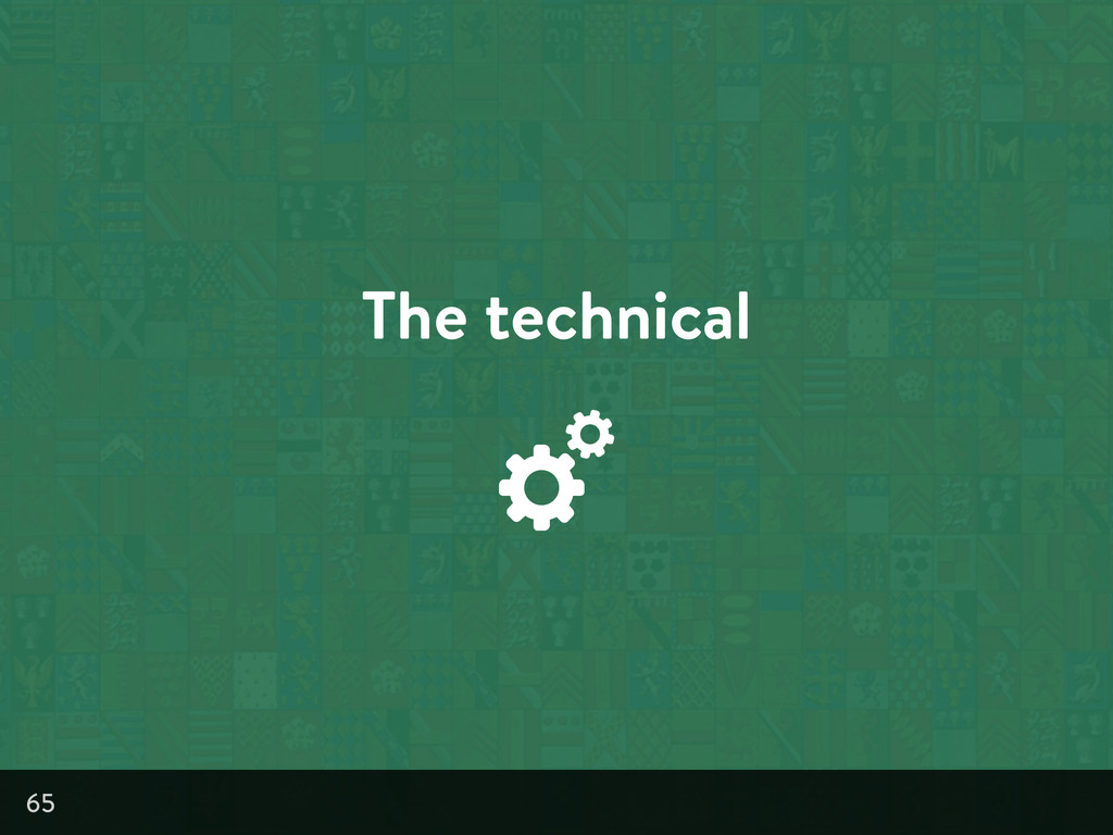 The technical 65