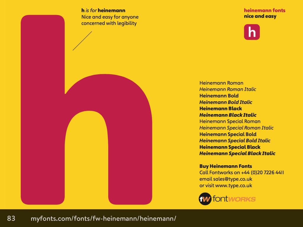 83 myfonts.com/fonts/fw-heinemann/heinemann/