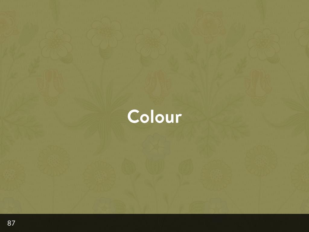 Colour 87
