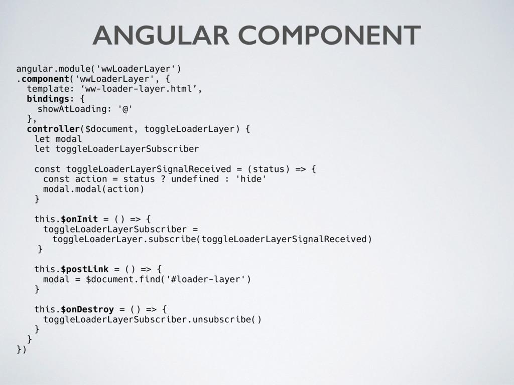 angular.module('wwLoaderLayer') .component('wwL...