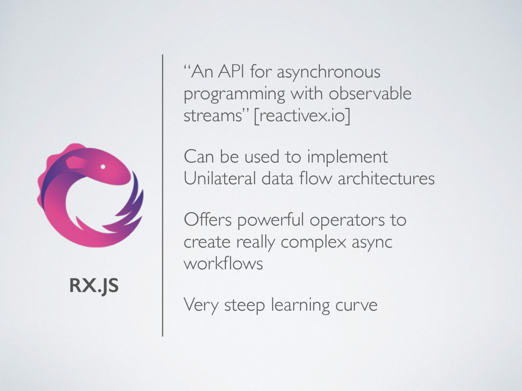 """RX.JS """"An API for asynchronous programming with..."""