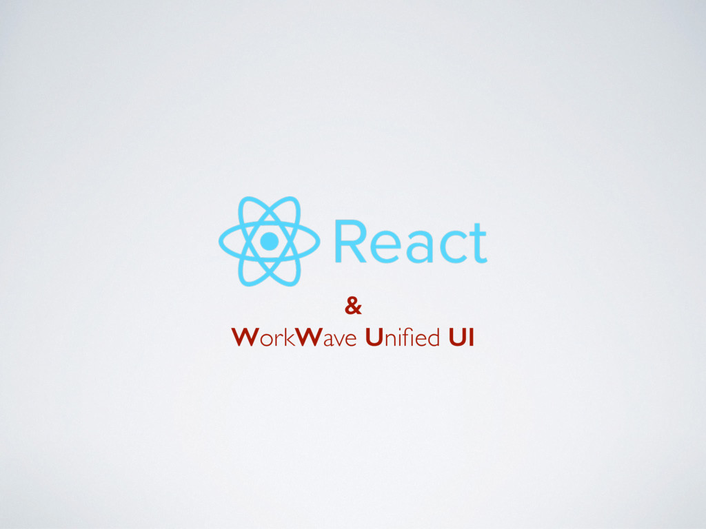 & WorkWave Unified UI