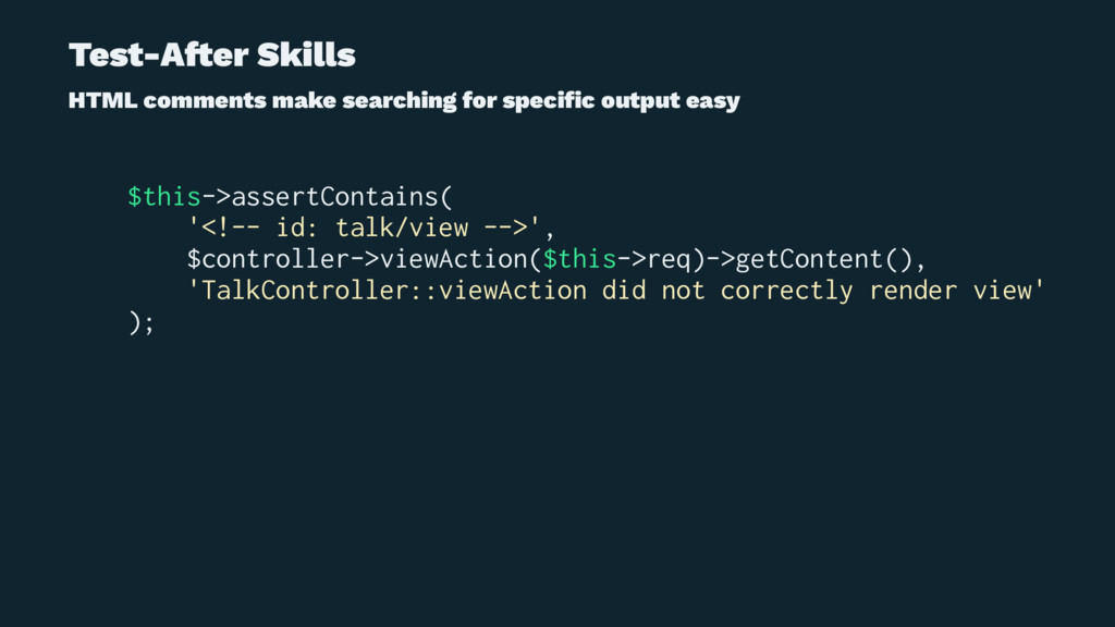 Test-A!er Skills HTML comments make searching f...