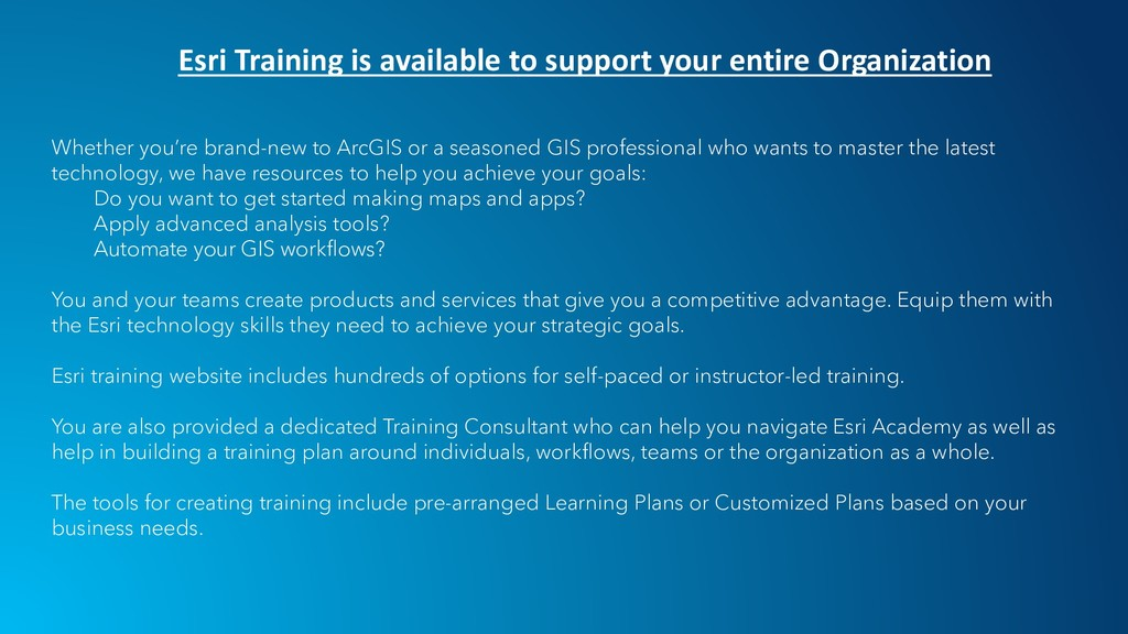Whether you're brand-new to ArcGIS or a seasone...