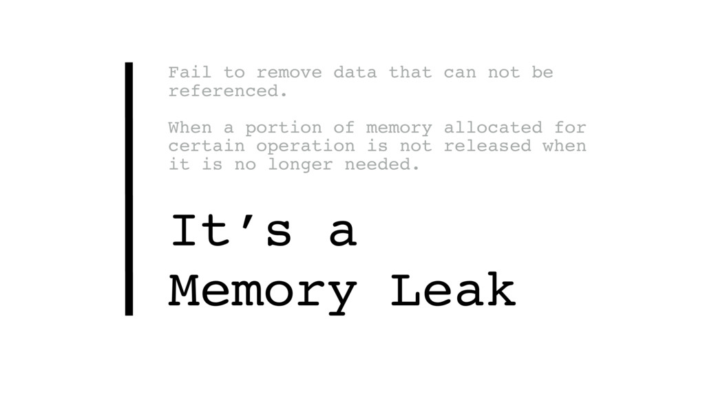 Fail to remove data that can not be referenced....
