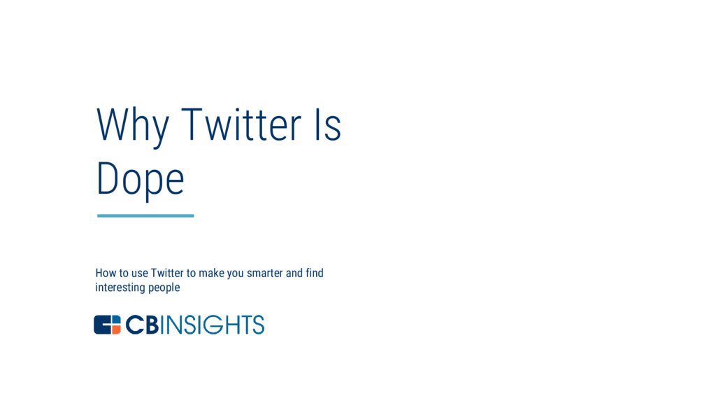 1 How to use Twitter to make you smarter and fi...