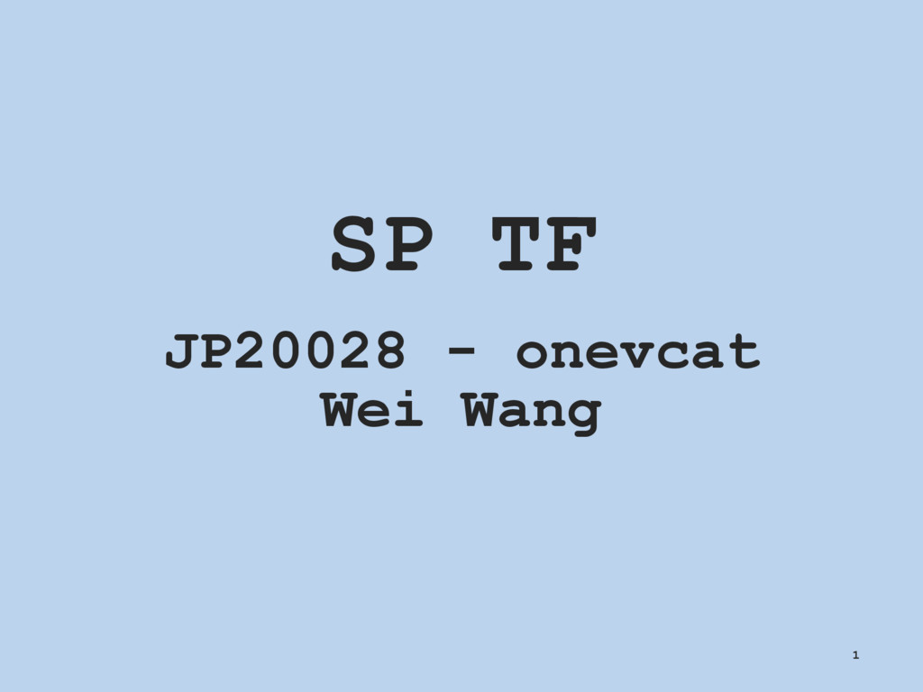 SP TF JP20028 - onevcat Wei Wang 1