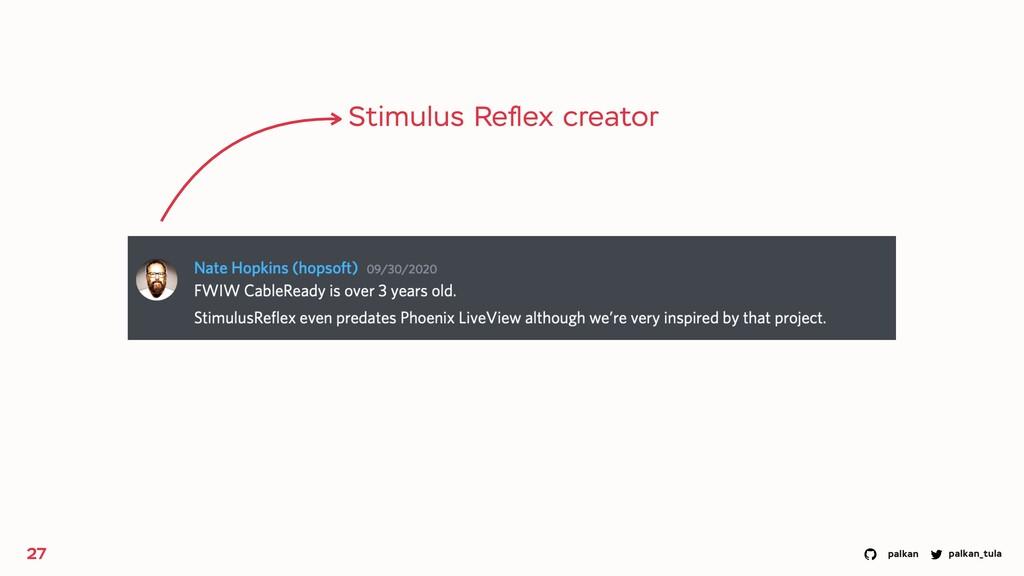 palkan_tula palkan 27 Stimulus Reflex creator