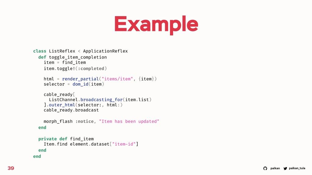 palkan_tula palkan Example 39 class ListReflex ...
