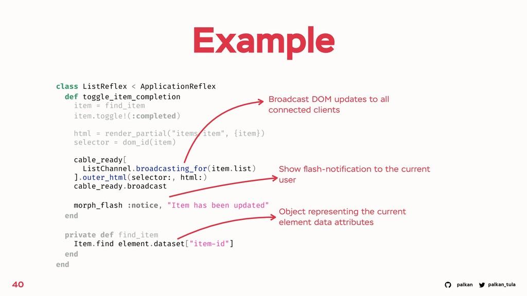 palkan_tula palkan Example 40 class ListReflex ...