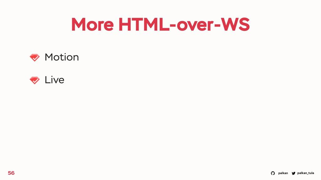 palkan_tula palkan More HTML-over-WS Motion Liv...