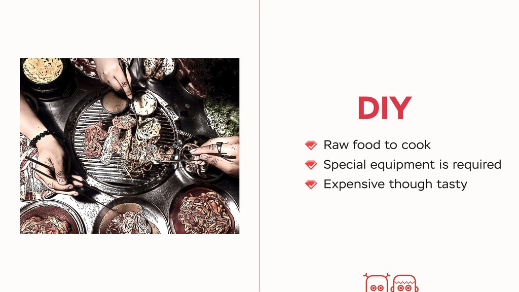 DIY Raw food to cook Special equipment is requi...
