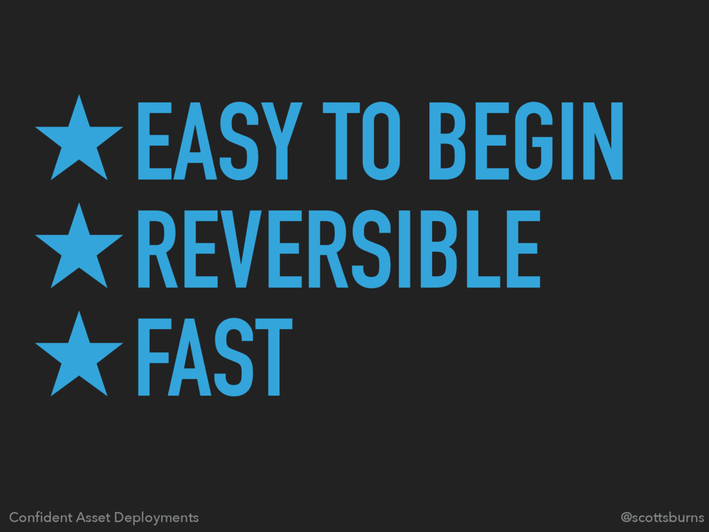 ̣EASY TO BEGIN ̣REVERSIBLE ̣FAST @scottsburns C...