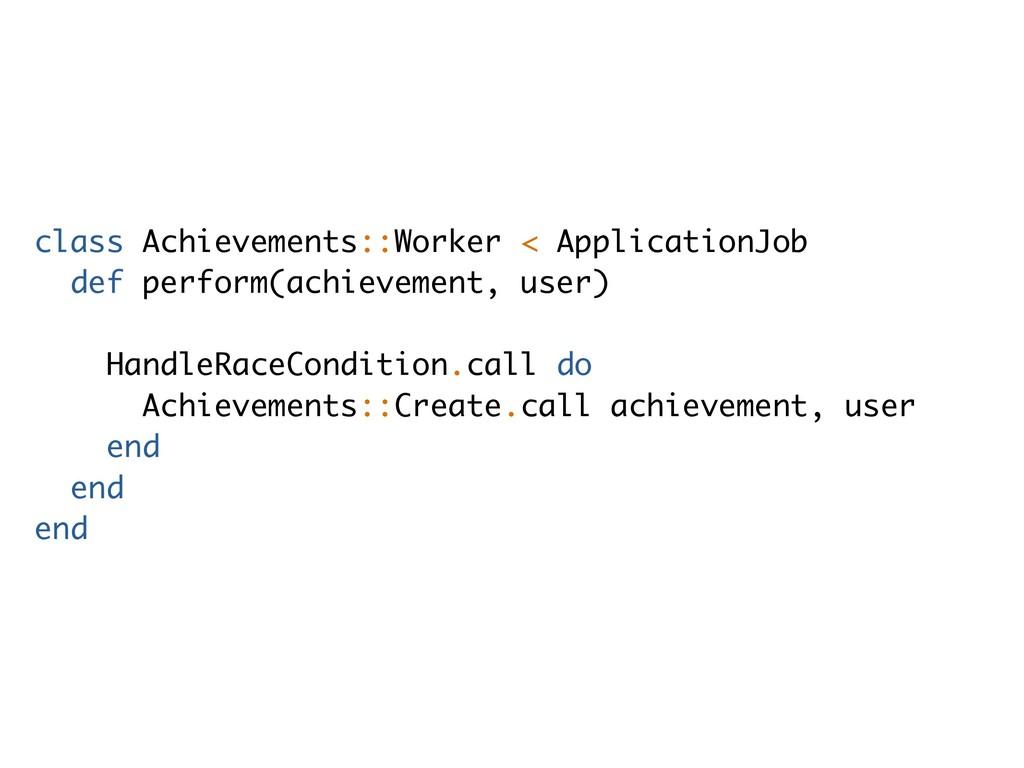 class Achievements::Worker < ApplicationJob def...