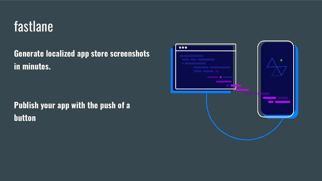 fastlane Generate localized app store screensho...