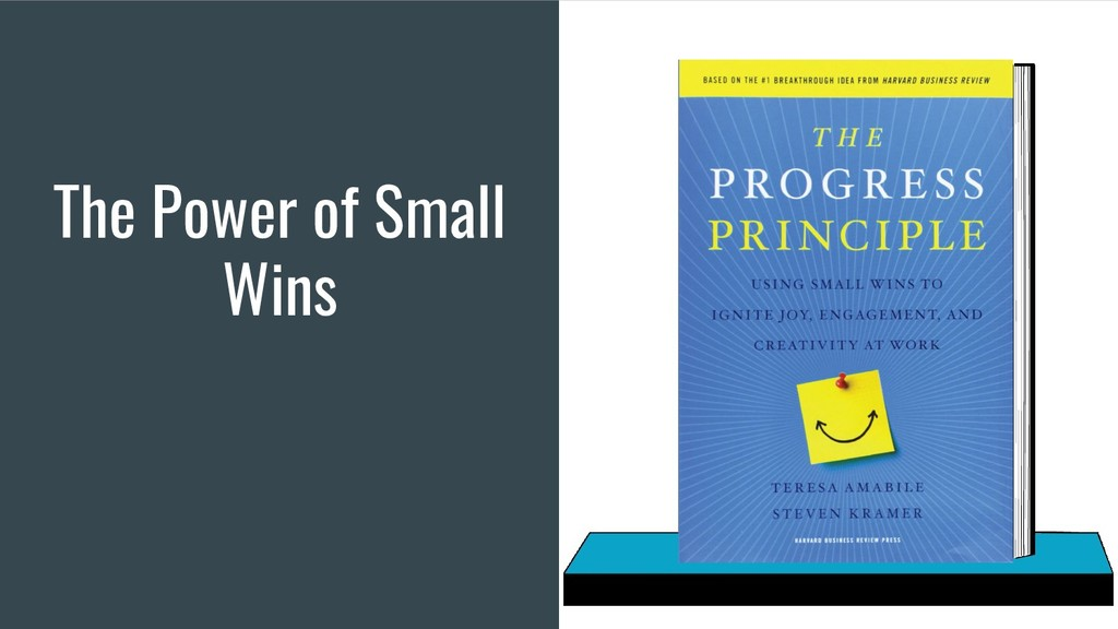 The Power of Small Wins