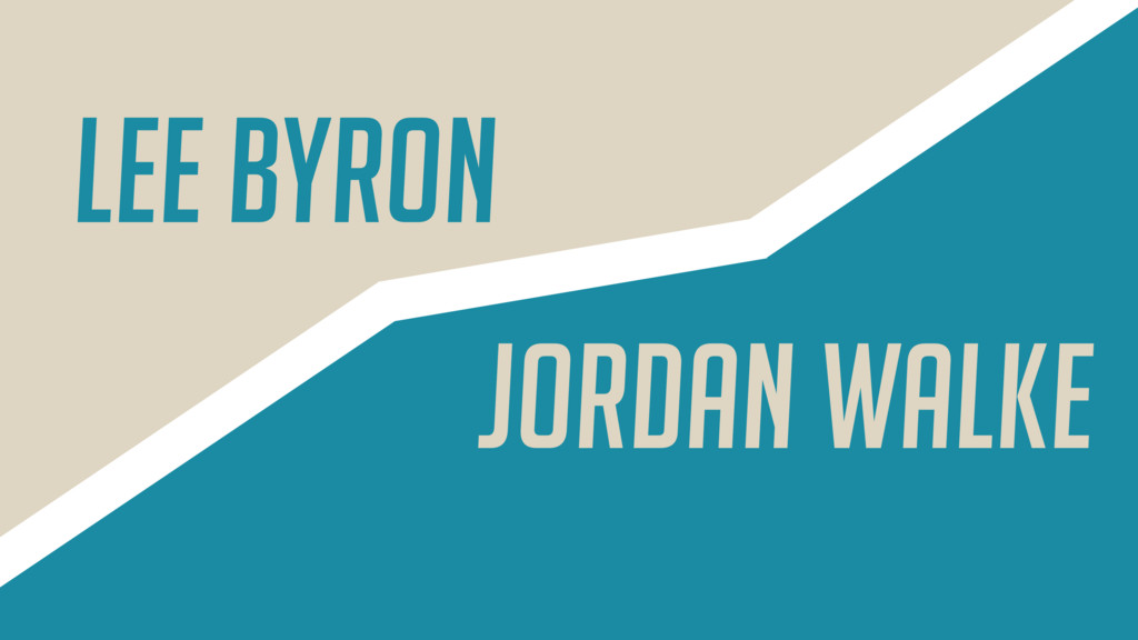 Lee Byron Jordan Walke