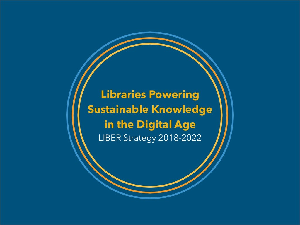 Libraries Powering Sustainable Knowledge in the...