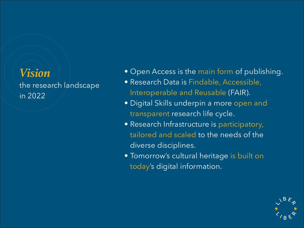 Vision the research landscape in 2022 • Open Ac...