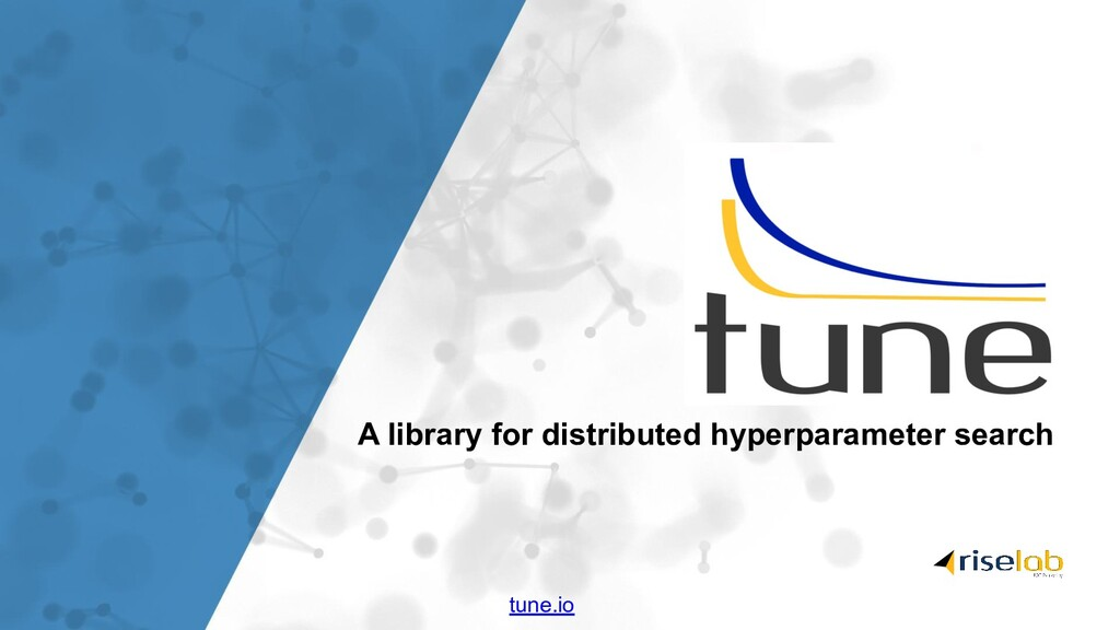 A library for distributed hyperparameter search...