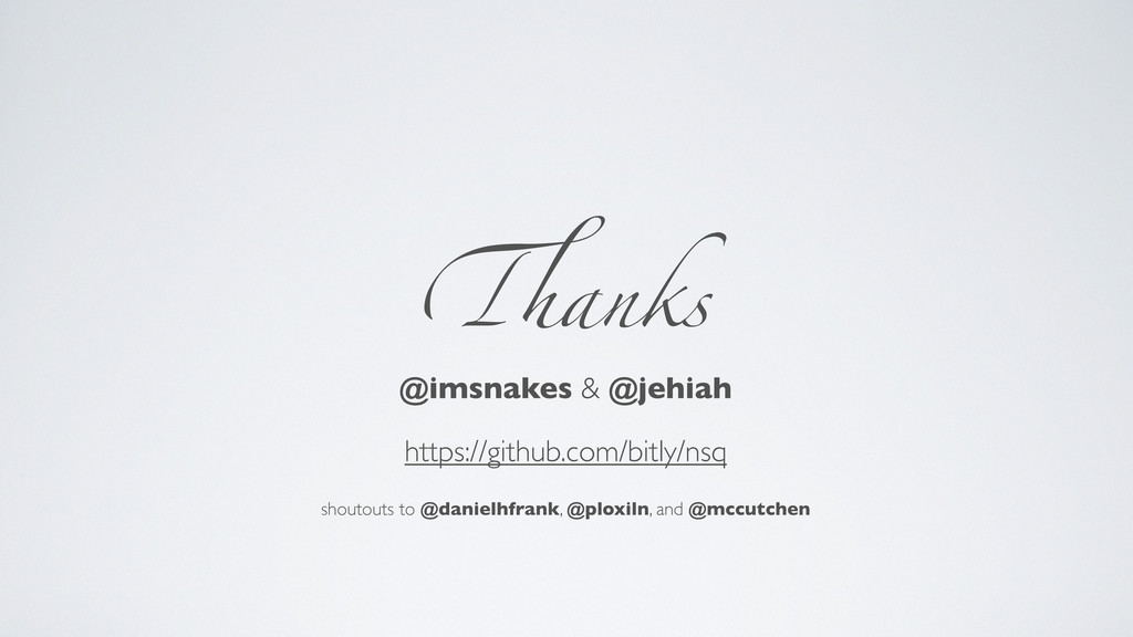 !anks @imsnakes & @jehiah https://github.com/bi...