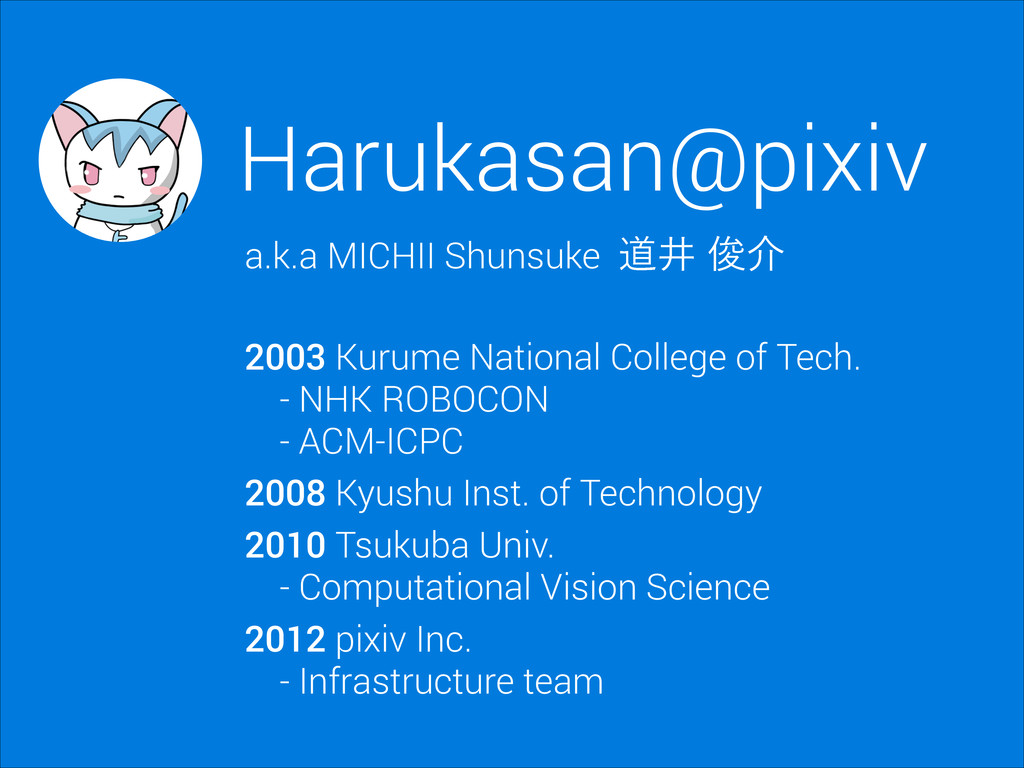 Harukasan@pixiv a.k.a MICHII Shunsuke ಓҪढ़հ 200...