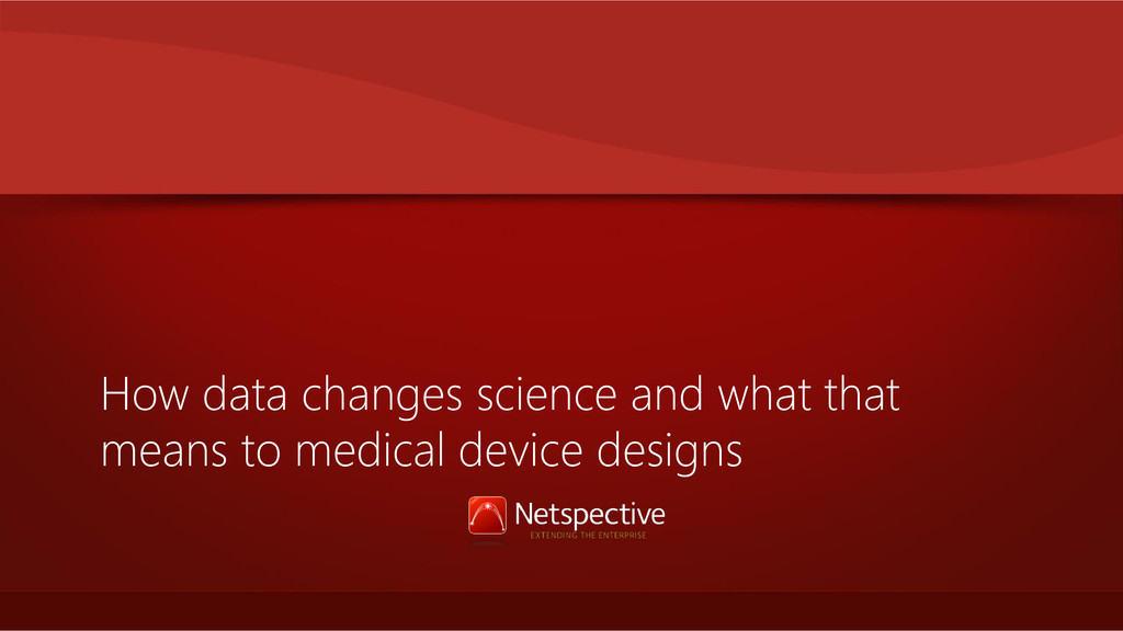 How data changes science and what that means to...
