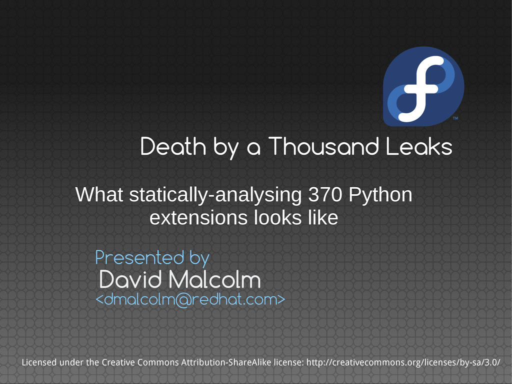 What statically-analysing 370 Python extensions...