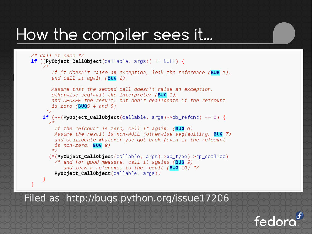 How the compiler sees it... Filed as http://bug...