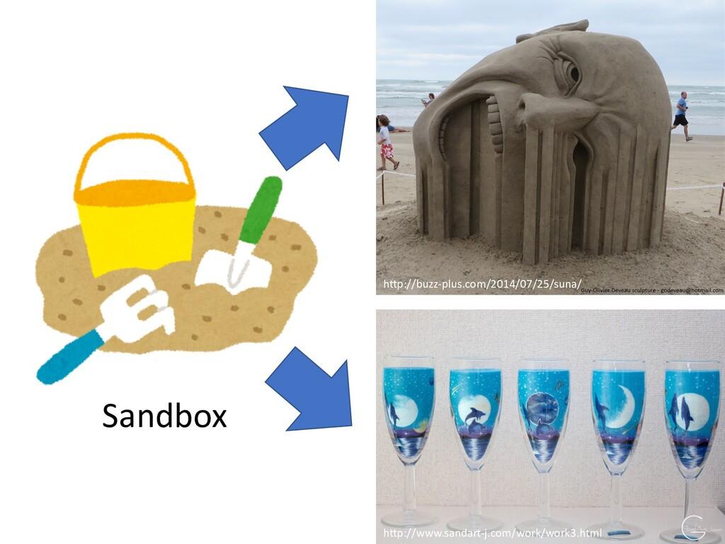Sandbox h)p://www.sandart-j.com/work/work3.html...