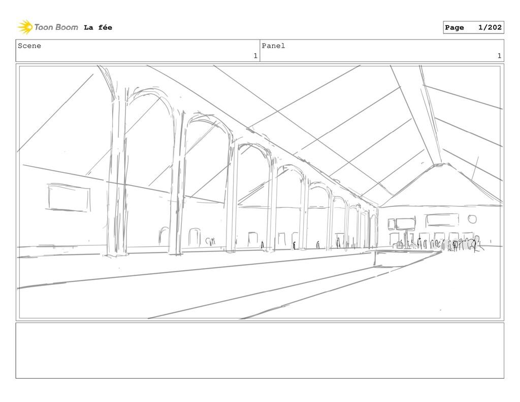 Scene 1 Panel 1 La fée Page 1/202