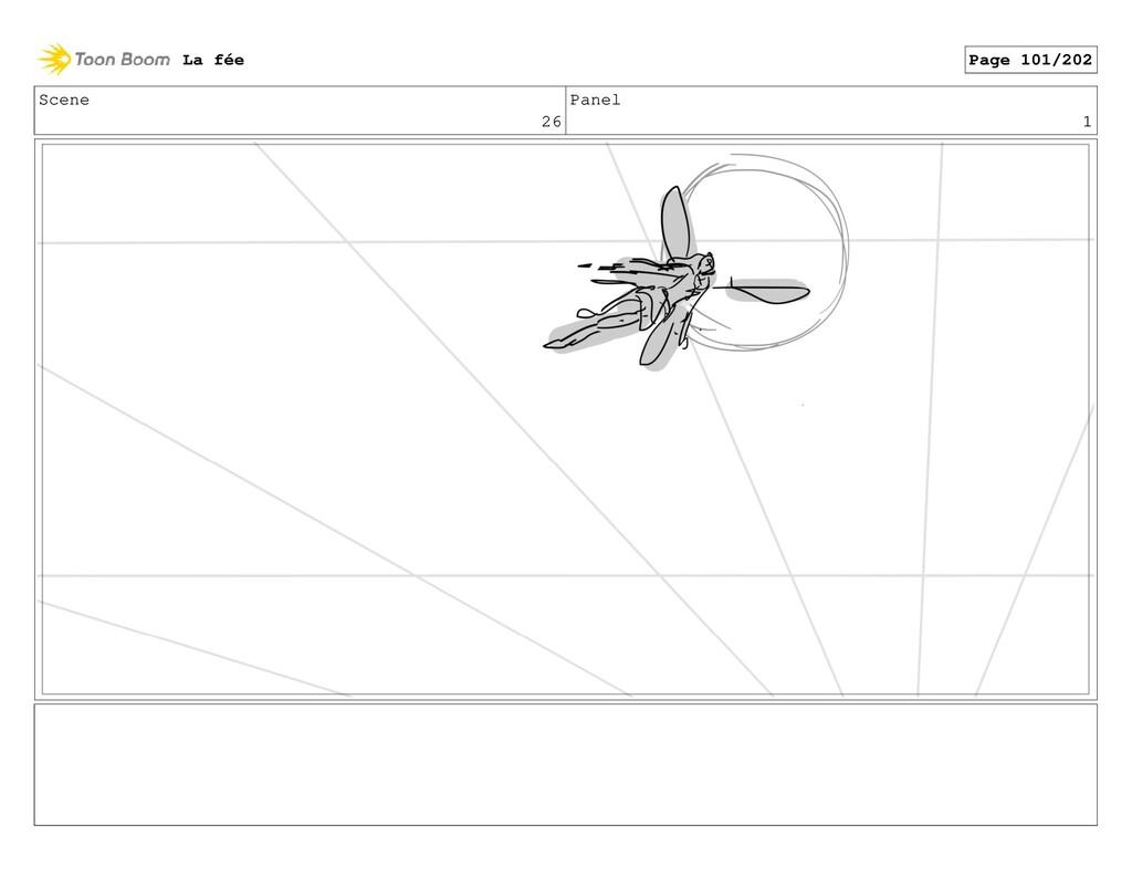 Scene 26 Panel 1 La fée Page 101/202