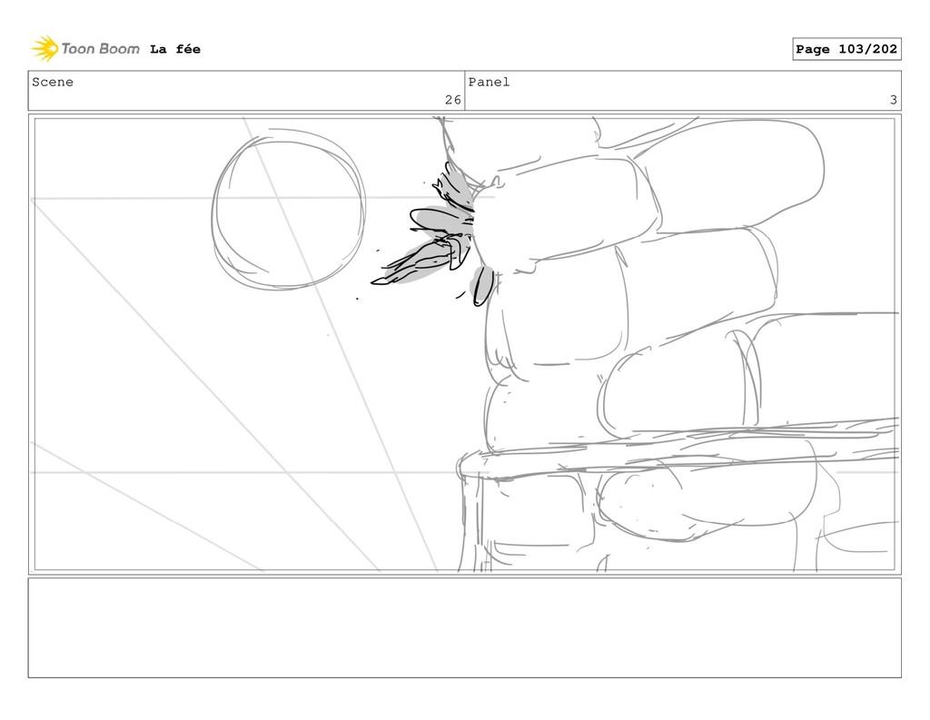 Scene 26 Panel 3 La fée Page 103/202