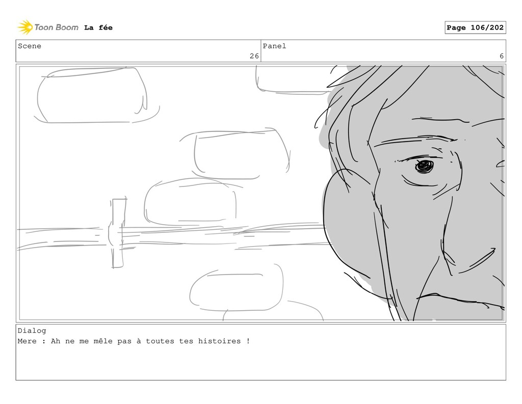 Scene 26 Panel 6 Dialog Mere : Ah ne me mêle pa...