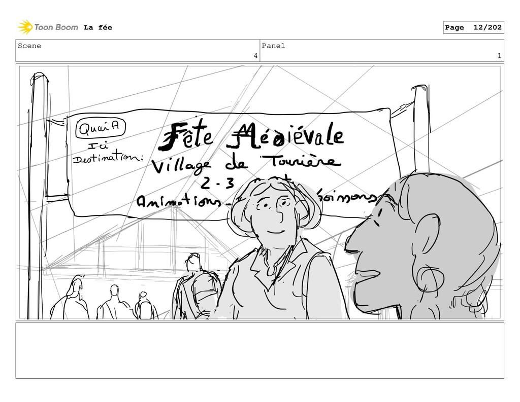 Scene 4 Panel 1 La fée Page 12/202