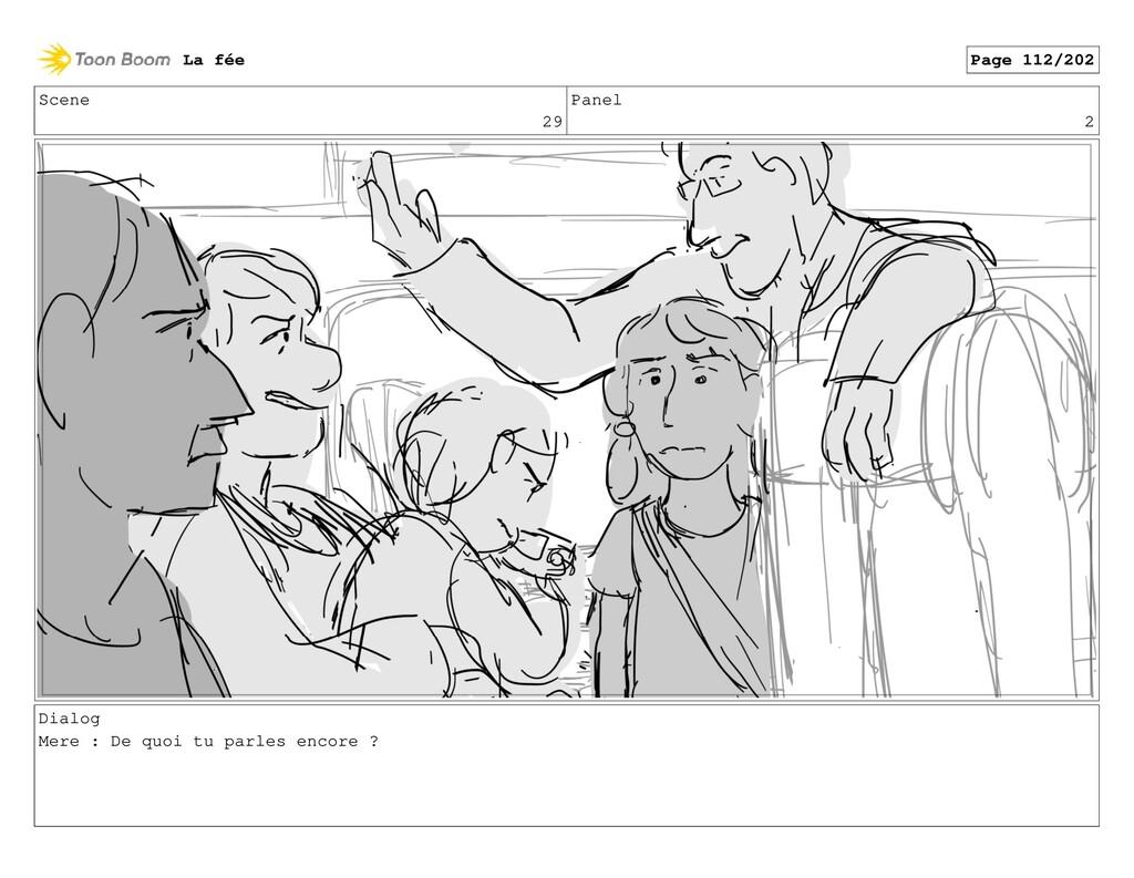 Scene 29 Panel 2 Dialog Mere : De quoi tu parle...