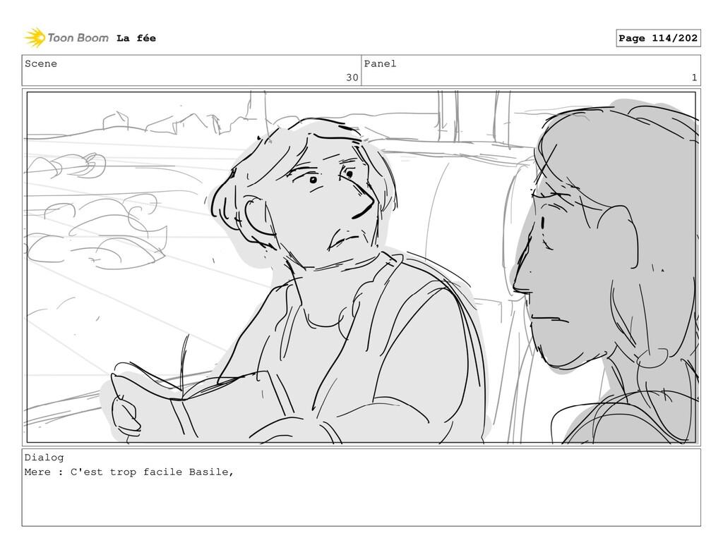 Scene 30 Panel 1 Dialog Mere : C'est trop facil...