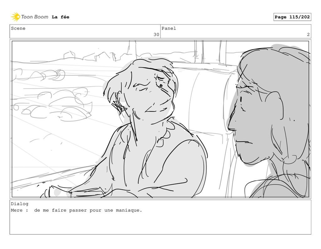 Scene 30 Panel 2 Dialog Mere : de me faire pass...
