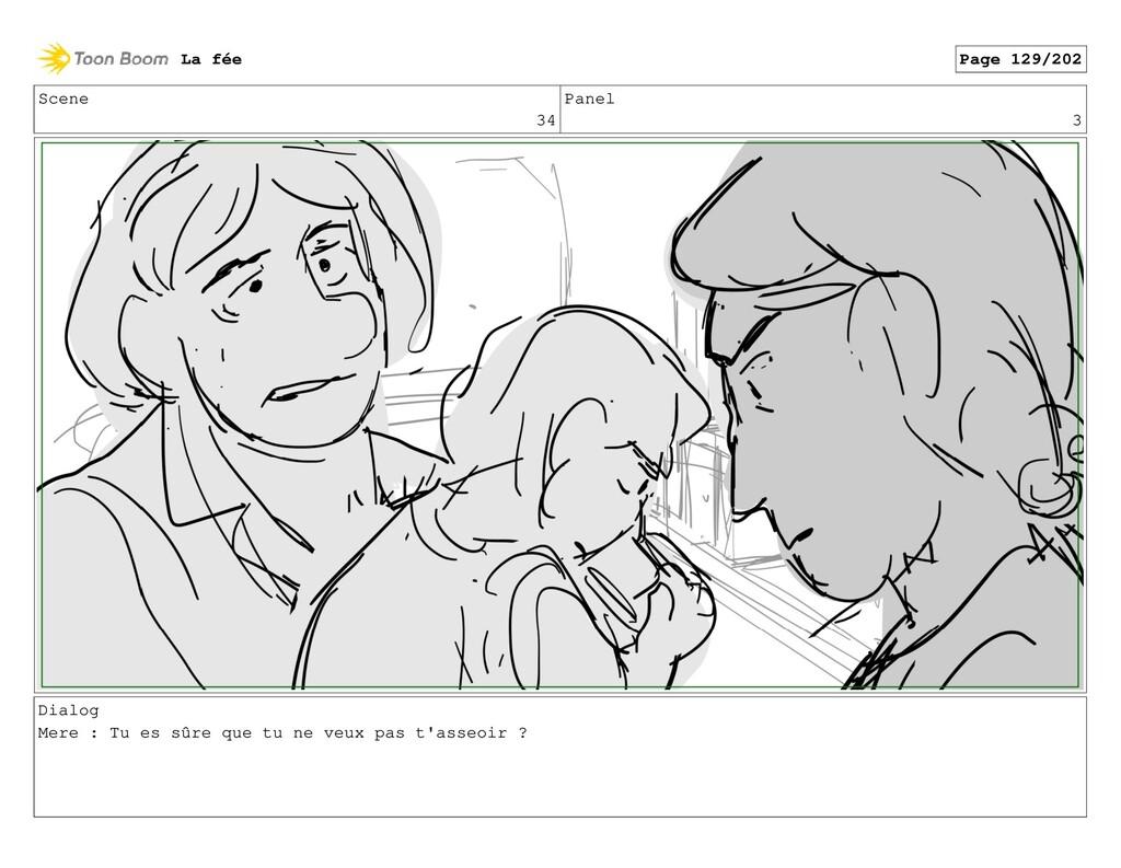 Scene 34 Panel 3 Dialog Mere : Tu es sûre que t...