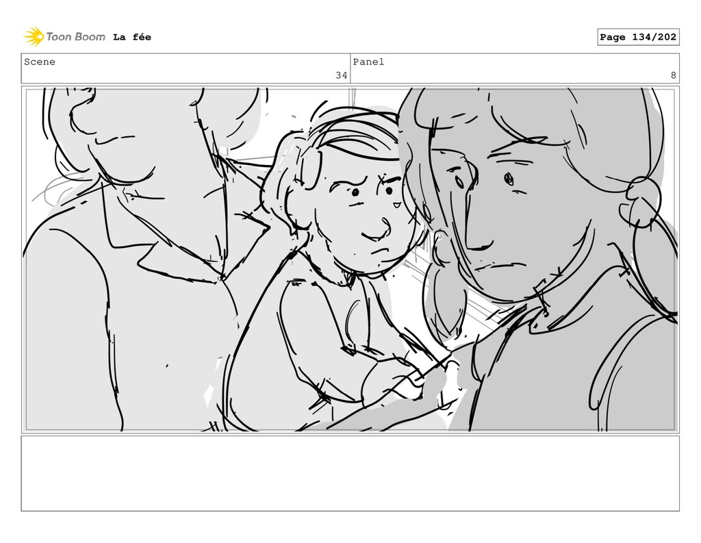 Scene 34 Panel 8 La fée Page 134/202