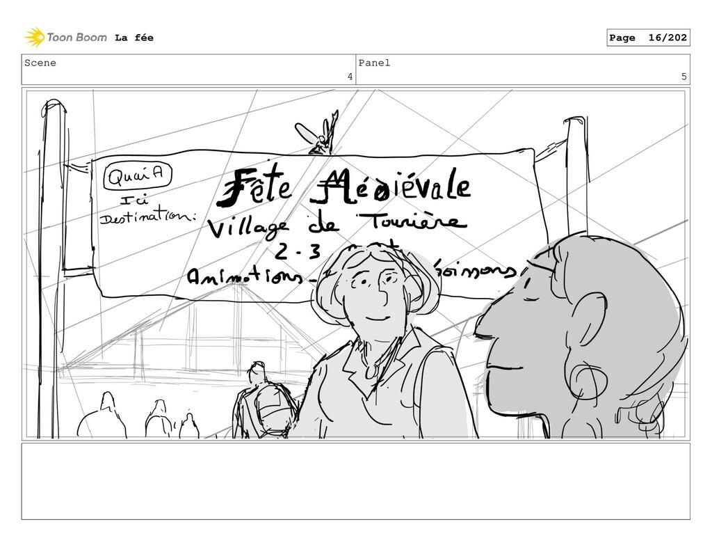 Scene 4 Panel 5 La fée Page 16/202