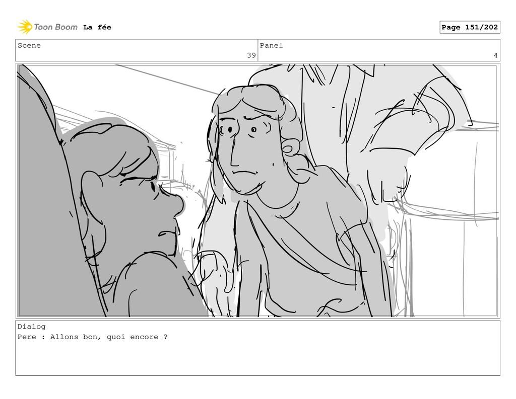 Scene 39 Panel 4 Dialog Pere : Allons bon, quoi...