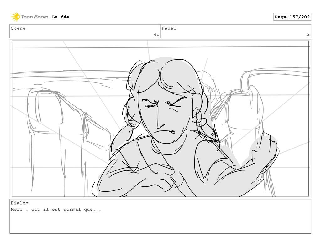 Scene 41 Panel 2 Dialog Mere : ett il est norma...