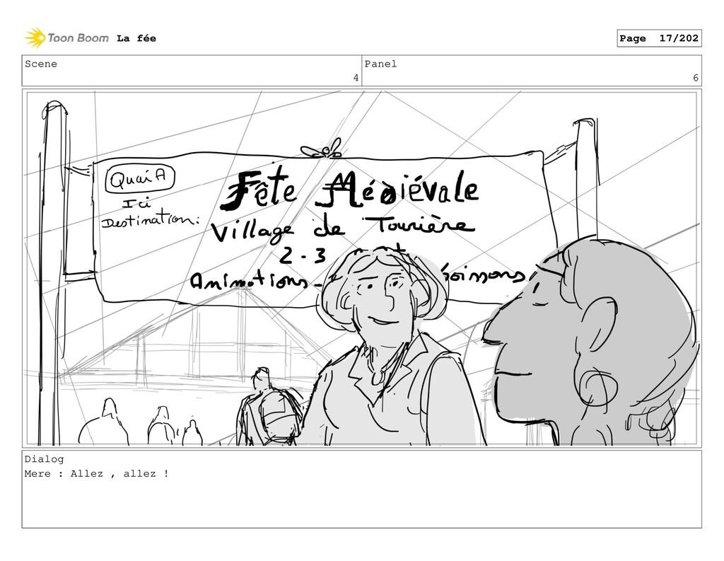 Scene 4 Panel 6 Dialog Mere : Allez , allez ! L...